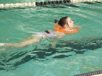 Brantley swimming with WaterWay Babies Neck Float 5-27-14 Thumbnail02